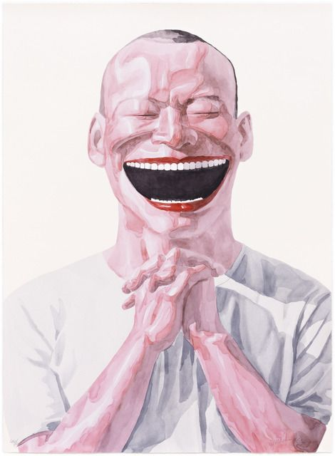 Yue Minjun   Untitled (Smile-ism No.23) (2006), Available for Sale   Artsy