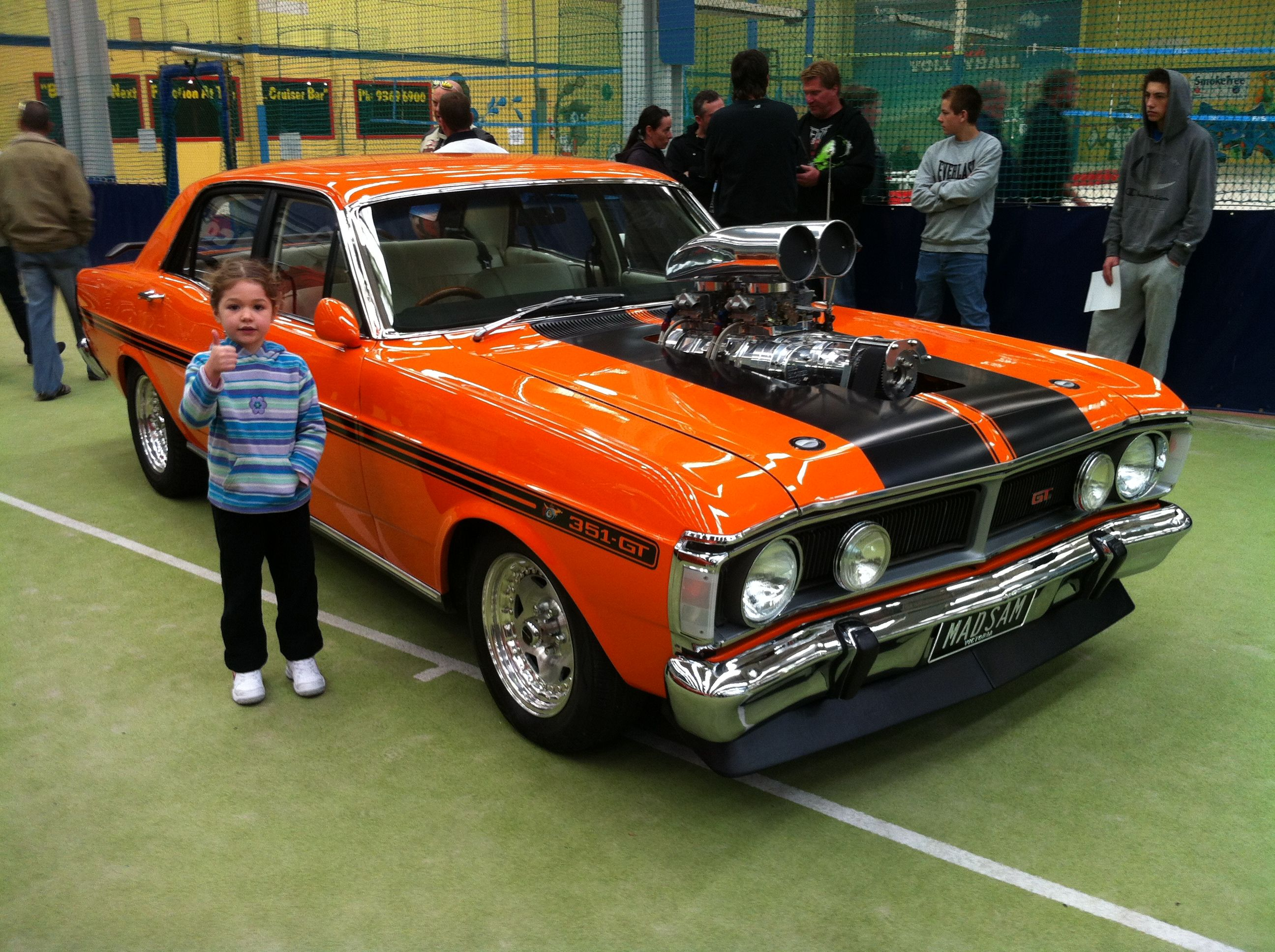 Blown falcon gt thumbs up