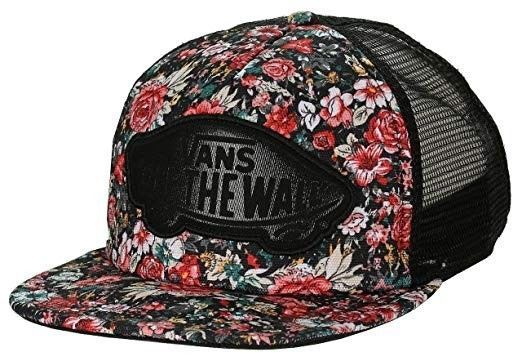 cdbf4820d276ed Vans Off the Wall Snapback Trucker Mesh Hat Cap Floral Red Flower Roses  #fashion #clothing #shoes #accessories #mensaccessories #hats (ebay link)