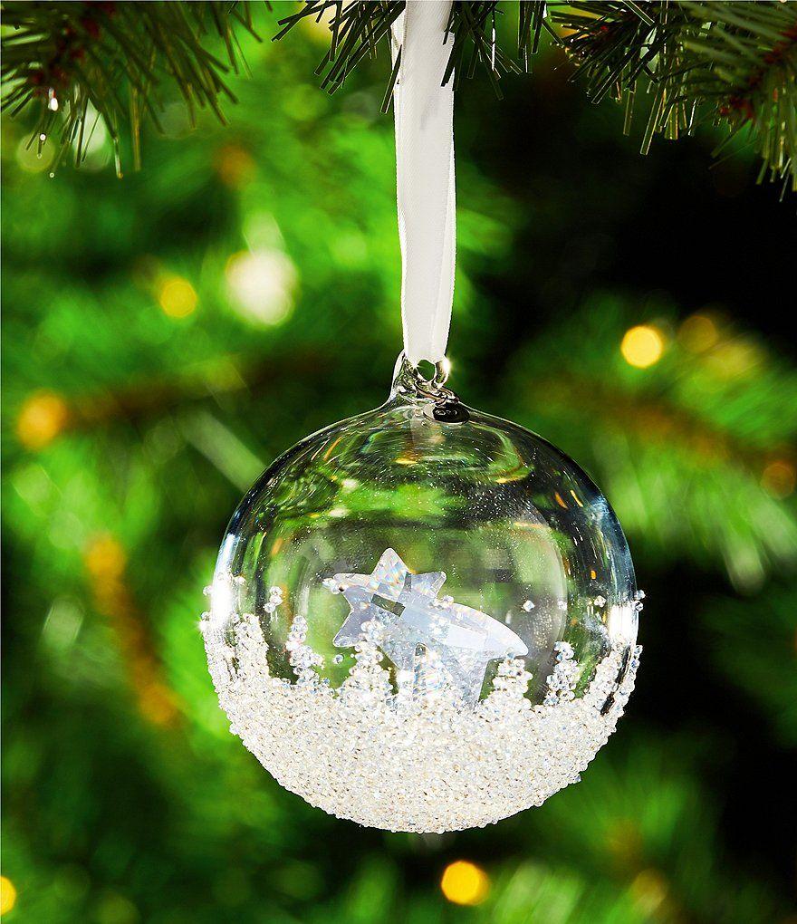 2fc8d6415025 Swarovski Crystal Annual Edition 2018 Christmas Ball Ornament