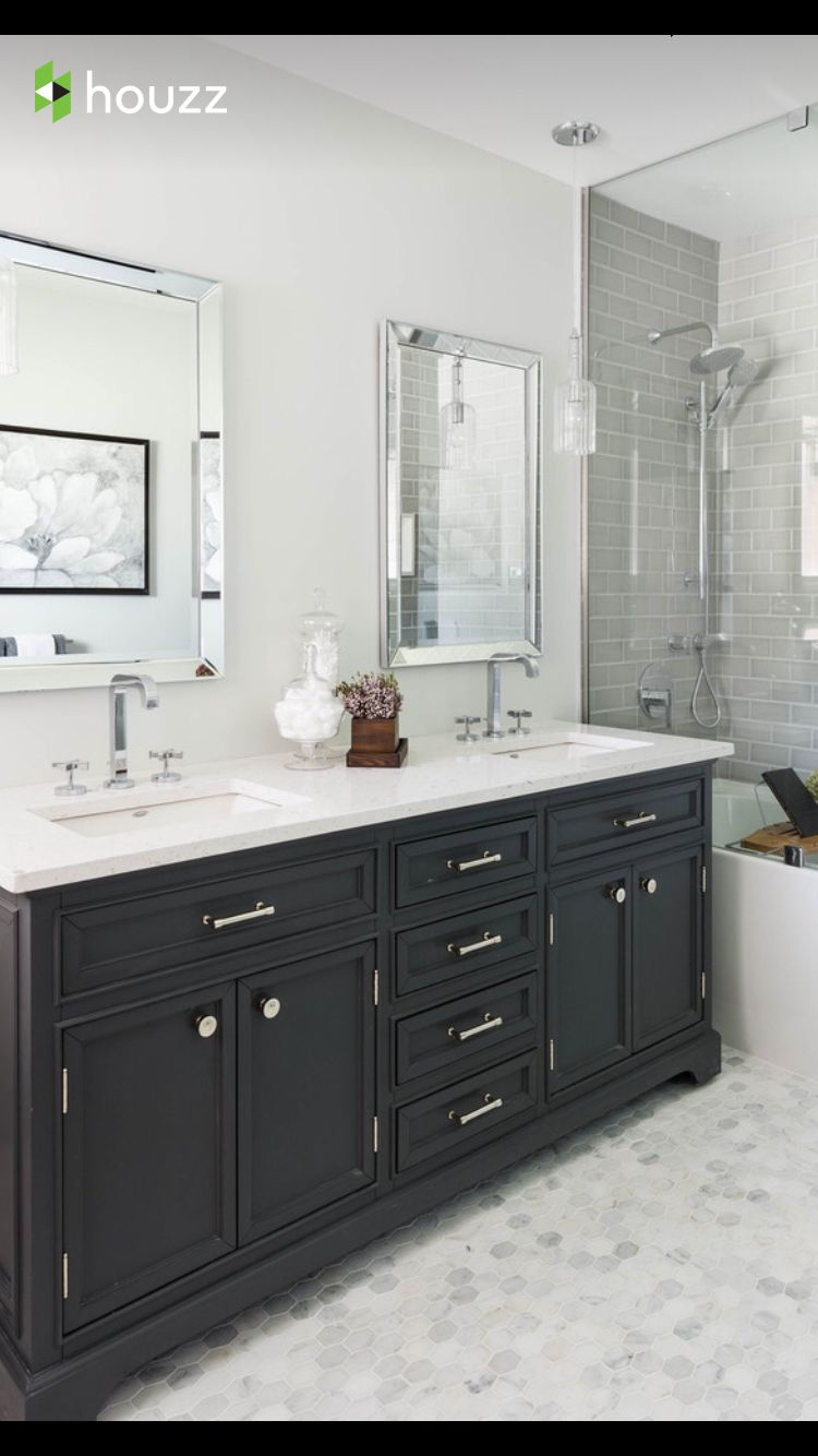 Love this look for basement bathroom ba os duchas for Windsong project floor plan
