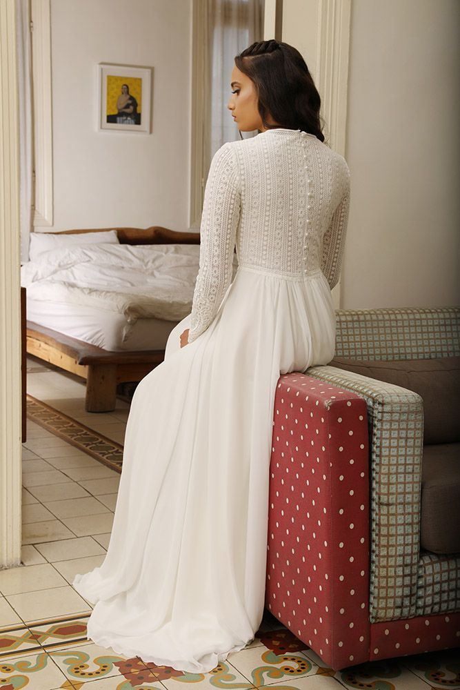 Modest Whispers-Modest wedding gowns