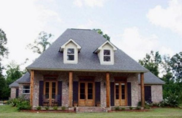 Like This Style Would Want To Paint Front Patio Brick