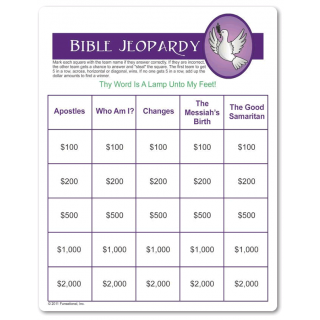 Printable Bible Jeopardy Church Games Sunday School Games Sunday School Lessons