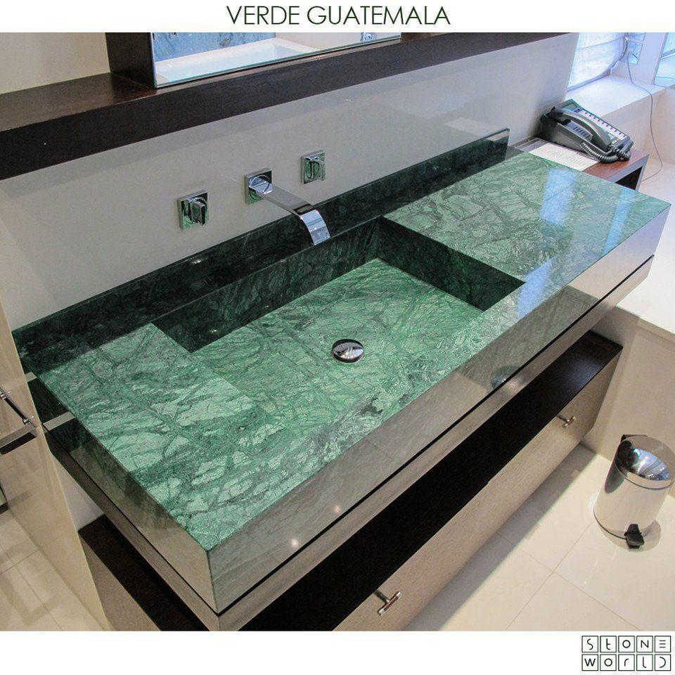 Verde Indio Green Marble Bathroom Green Marble Bathroom Decor