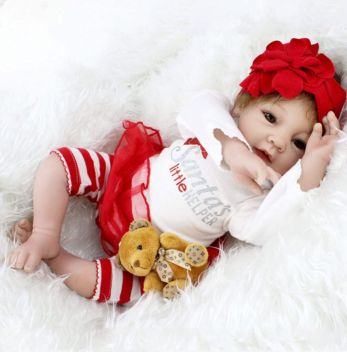 Shop Charex Realistic Reborn Baby Dolls 22in At Artsy Sister In 2020 Baby Girl Toys Real Baby Dolls Reborn Baby Dolls