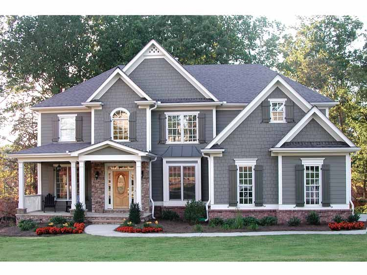 Craftsman style perfect mix of colonial and craftsman it for Craftsman colonial style homes