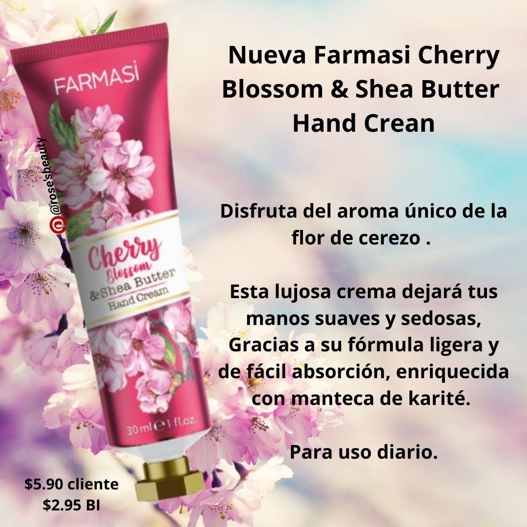 Cherry Blossom Hand Cream In 2021 Cherry Blossom Hand Cream Hand Cream Shea Butter