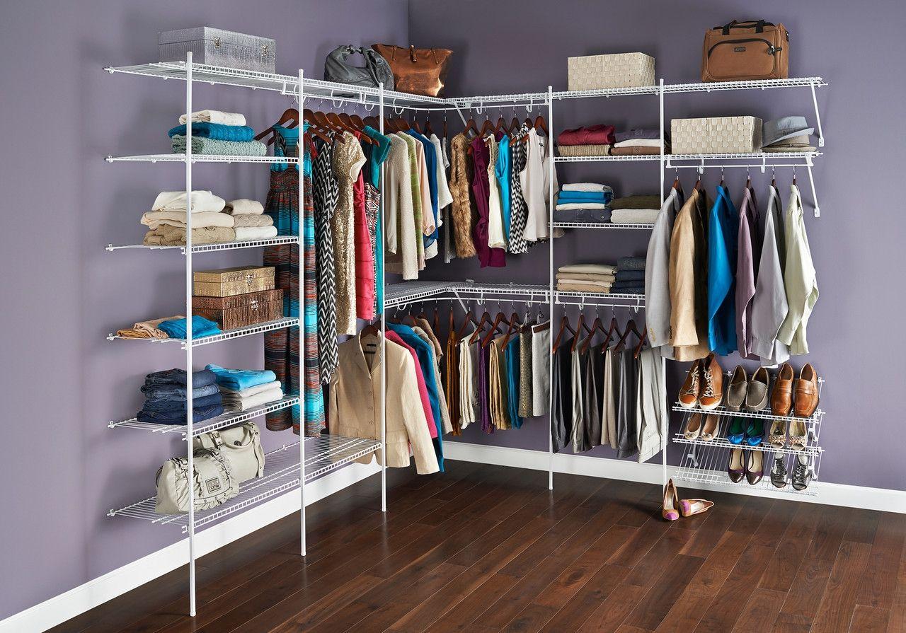 Closetmaid Wire Shelving Ideas | http://tenerife-top.com | Pinterest ...