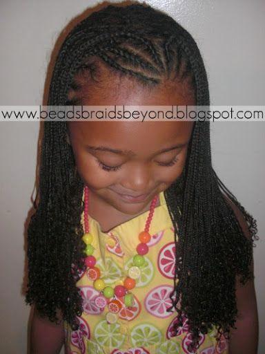 Beads, Braids and Beyond: Cornrows & Mini Braids + Lil Man ...