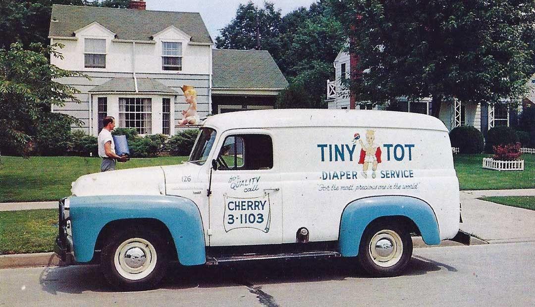 Tiny Tot Diaper Service Dodge Truck   Old Rides 4   Pinterest ...