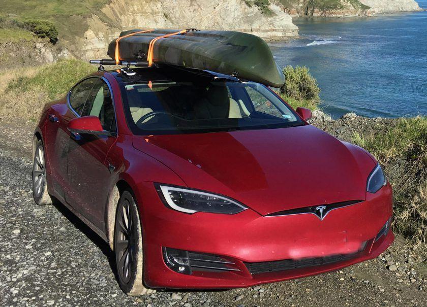 Tesla Model S Roof Rack Tesla model s, Roof rack, Tesla