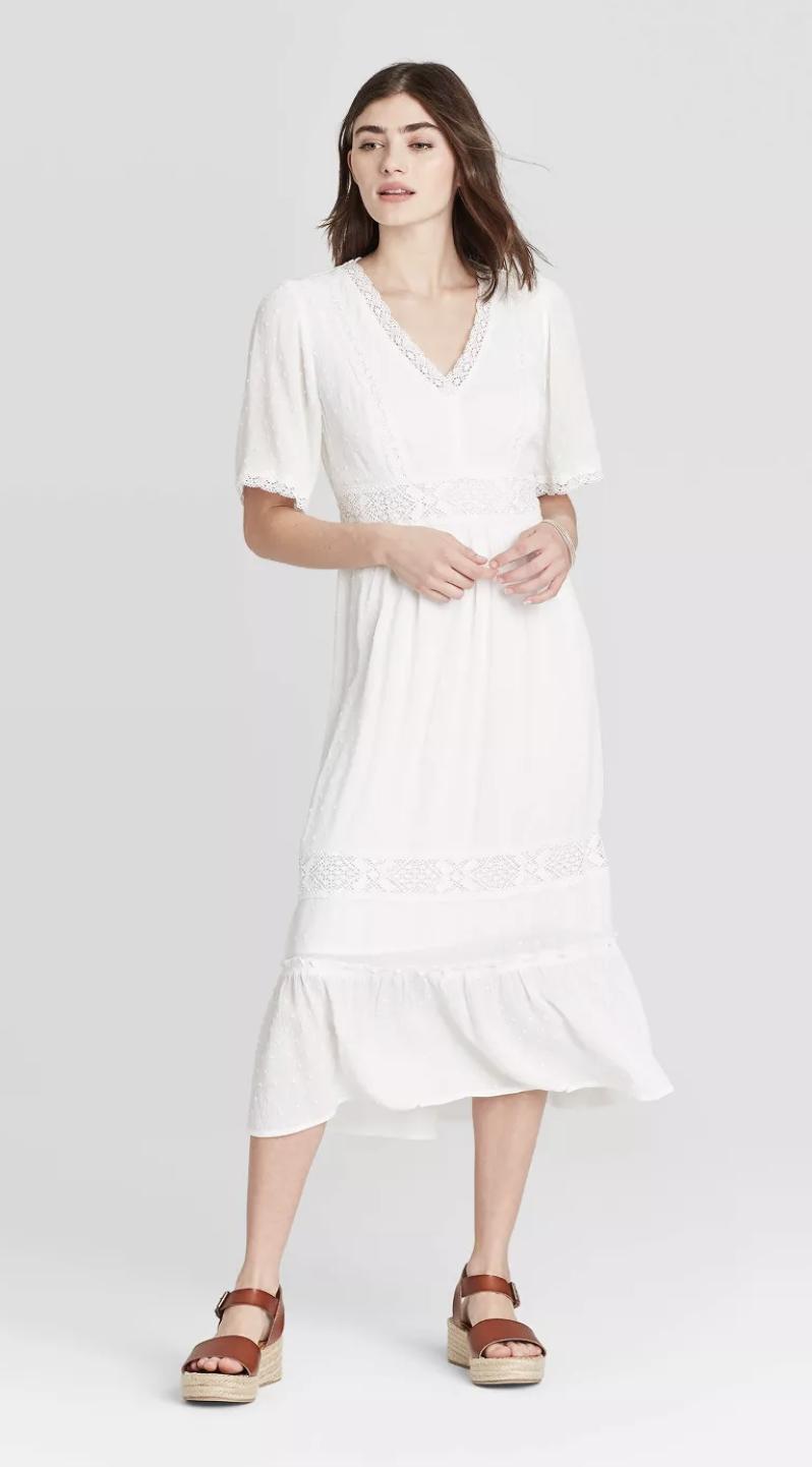21+ Target white dress info