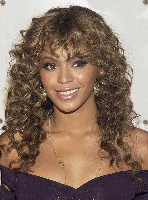 Naturally Curly Hairstyles Captivating 30 Hairstyles For Curly Hair With Bangs  Hair  Pinterest  Curly