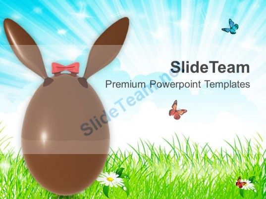 Suprise Your Friends With Easter Bunny Powerpoint Templates Ppt