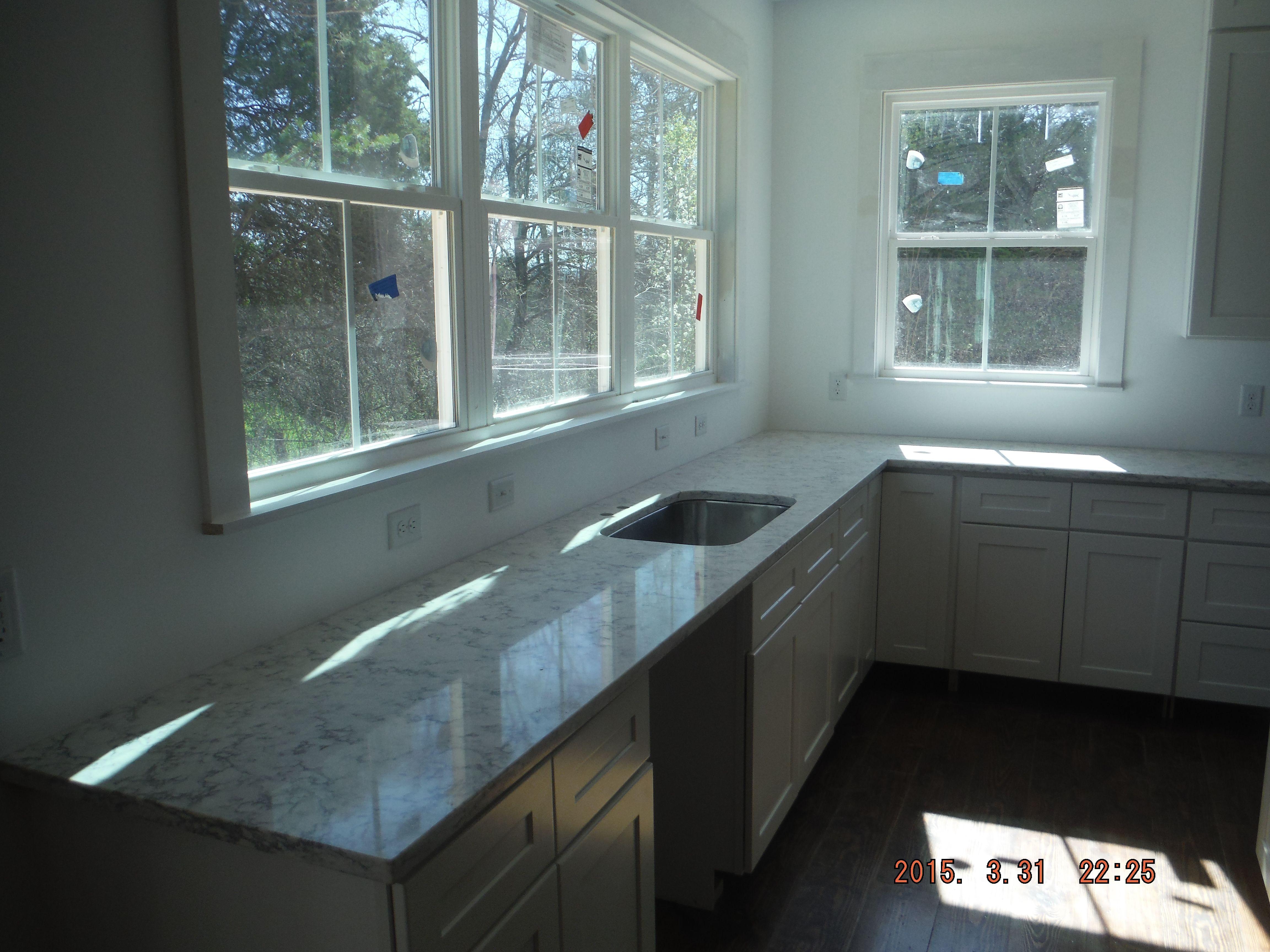 Rococo LG Viatera quartz kitchen countertop install for the ...