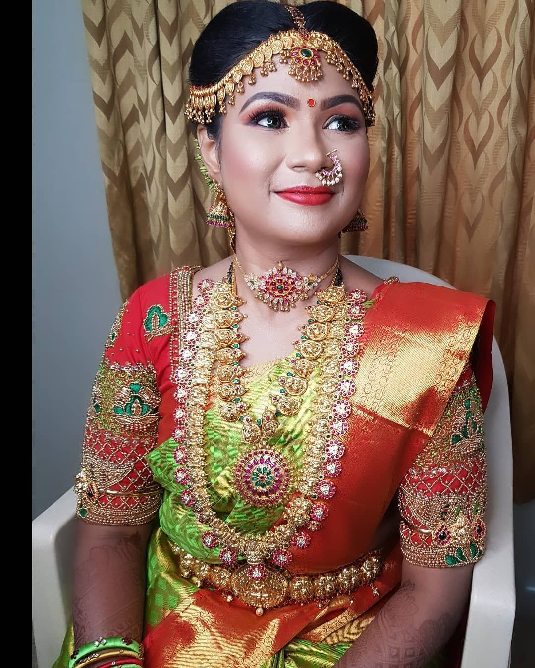 Happy Bride In Vivah Jewellery Mua Luckygirl Makeupartist Bridal Jewellery For Rent For All States Bridal Jewellery For Hire Re In 2020 Bridal Jewelry Bride Bridal