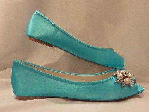 Flat Wedding Shoe $89