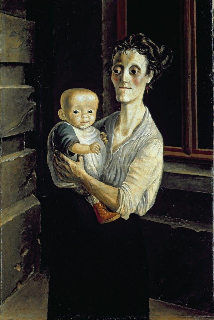 otto dix mother with child frau mit kind 1921 neue sachlichkeit pinterest neue. Black Bedroom Furniture Sets. Home Design Ideas