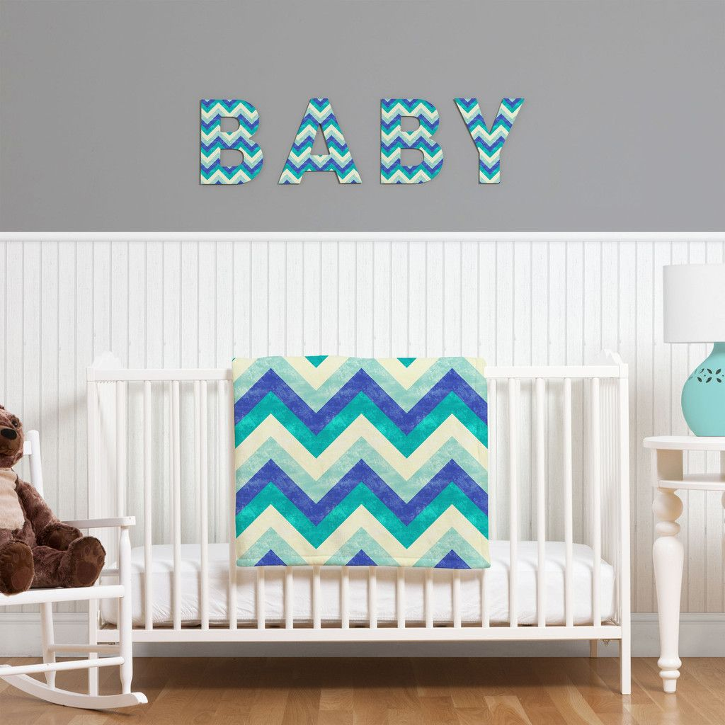 Jacqueline Maldonado Chevron Ocean Decorative Letters | DENY Designs Home Accessories coupon code SAY50 for 50% off!