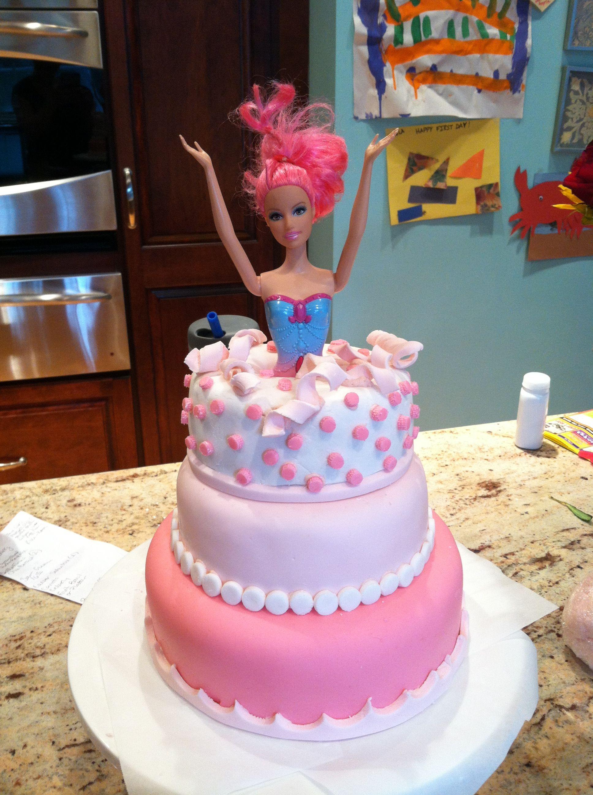 pop out cake surprise