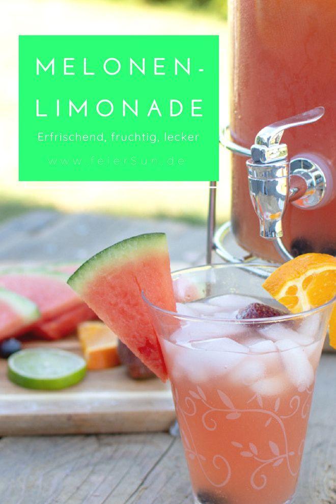 Leckere Melonen-Limonade selber machen | feierSun.de