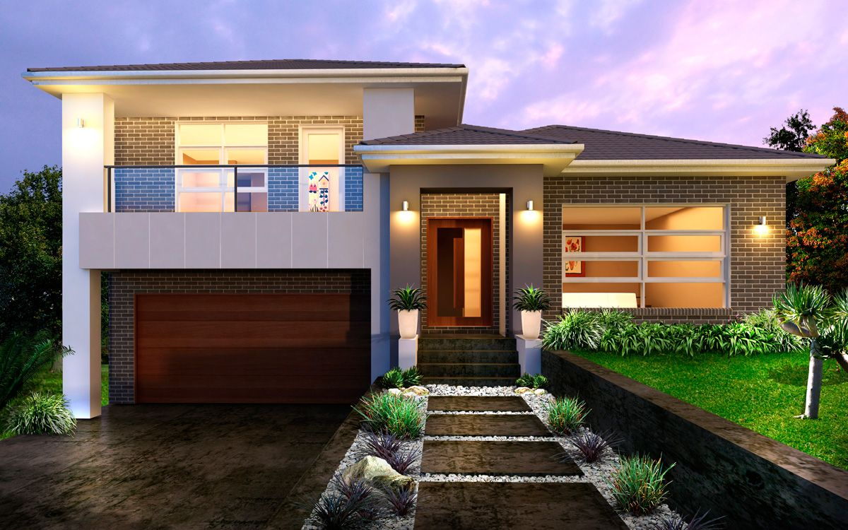 Tristar 34 5 split level by kurmond homes new home for Modern house designs nsw