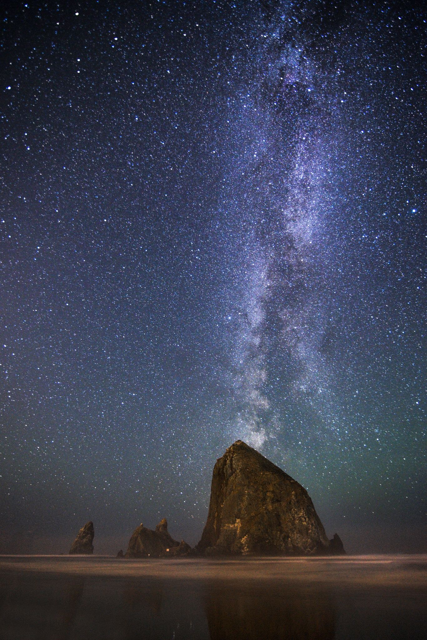 milky way from earth - HD 1367×2048