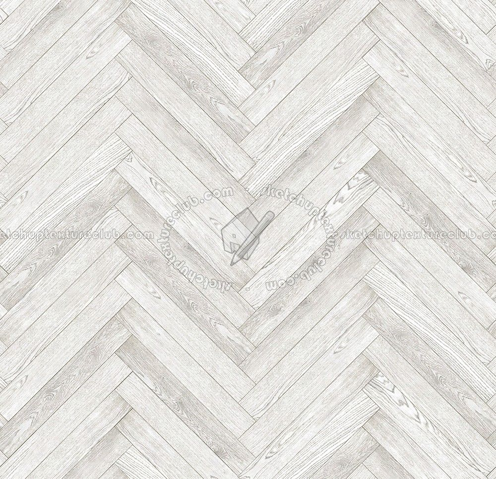 Texture Seamless Herringbone White Wood Flooring Texture Seamless