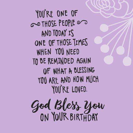 Fabulous Day Religious Birthday Card