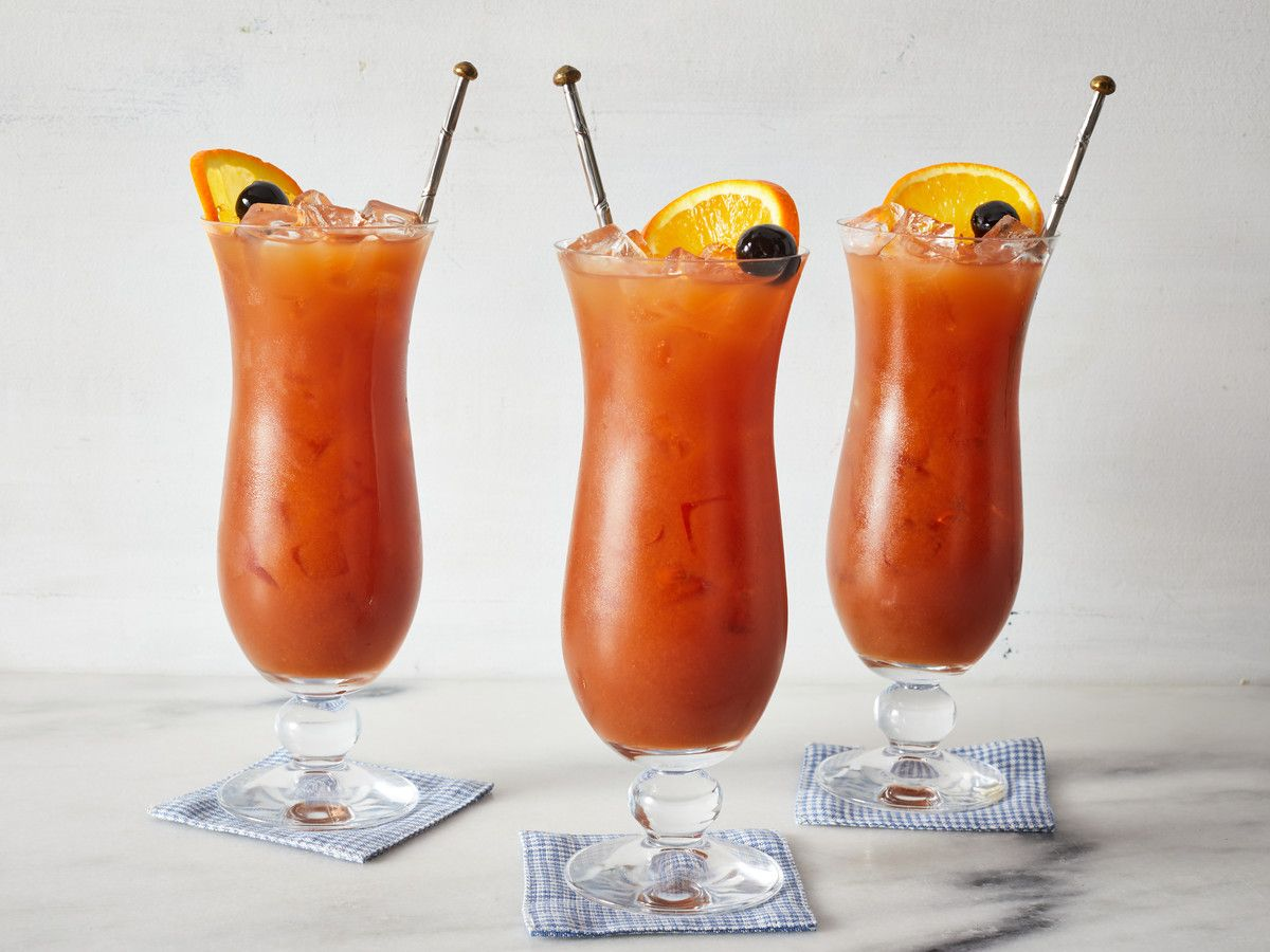 Hurricane Cocktail Recipe In 2020 Southern Cocktail Hurricane Cocktail Recipe Cocktails