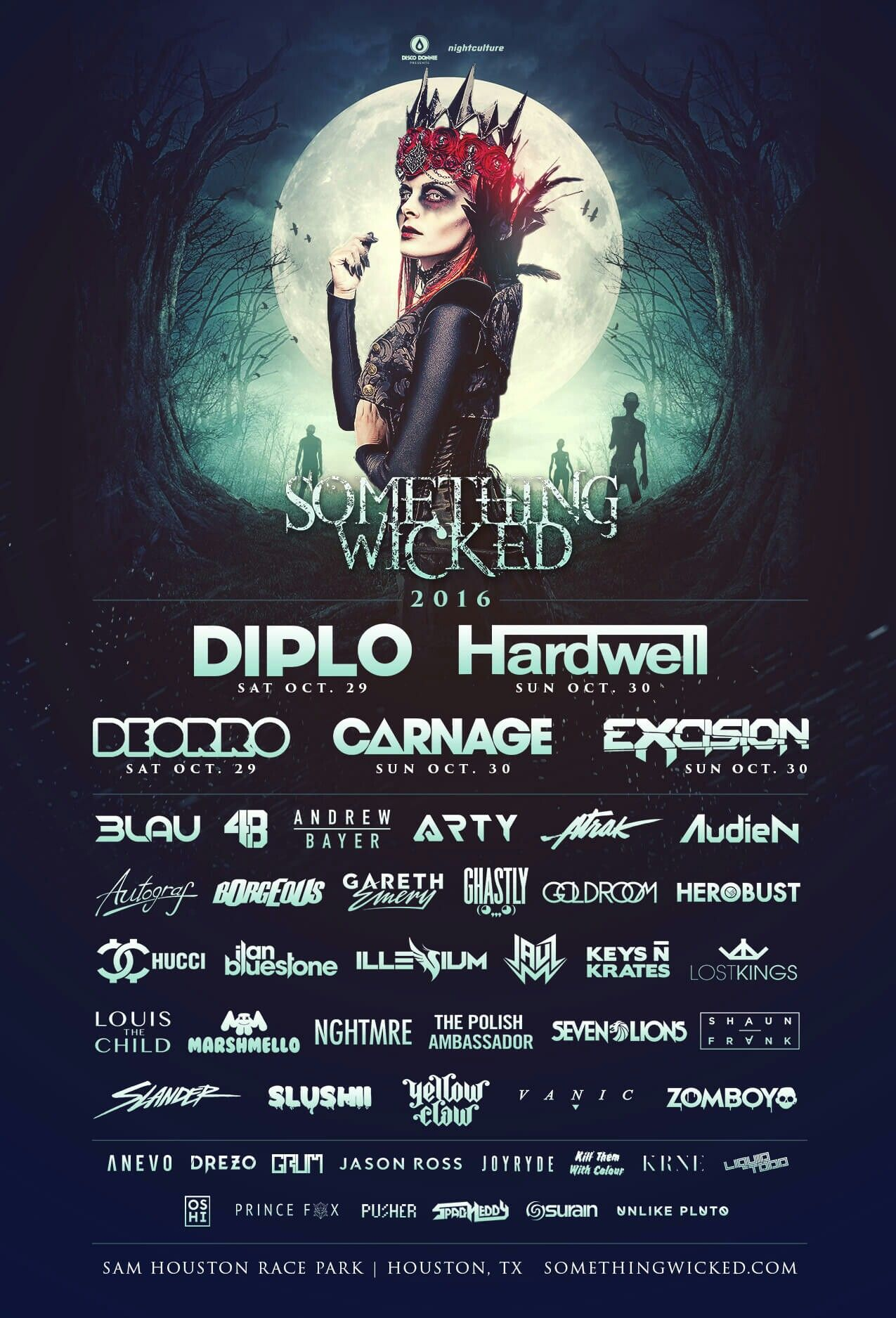 #somethingwicked Oct 29/30