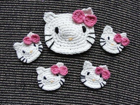 Hello kitty crochet crochet hello kitty hello kitty crochet