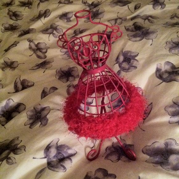 Jewelry Tree Shaped Like a Dress/Manequin! A Little Brighter than The Pictures Show. Never Used. Target Other