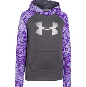 Under Armour Girls' Armour Fleece Storm Printed Big Logo Hoodie - Dick's Sporting Goods $37.99  --Allison said she wants an under armour hoodie