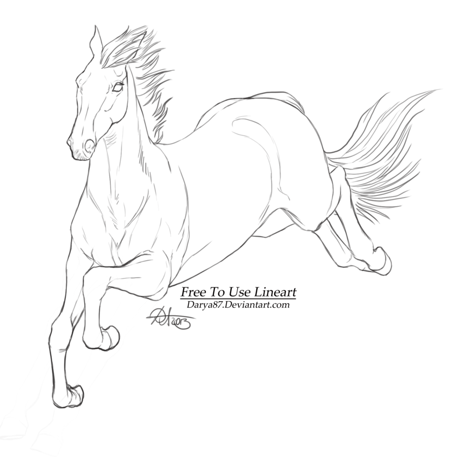 Free Lineart Steeplechaser Horse Drawings Horse Art Horse Coloring Pages [ 900 x 900 Pixel ]