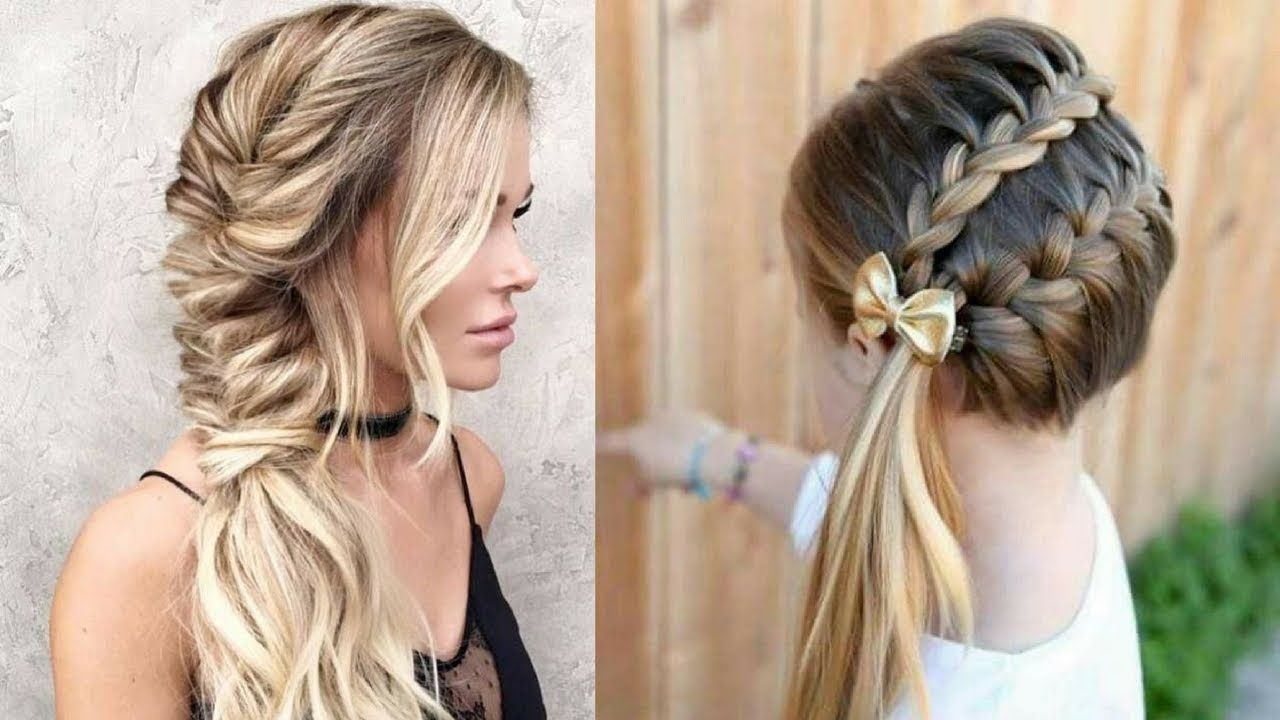 How to home simple u easy hair style new hairstyles videos