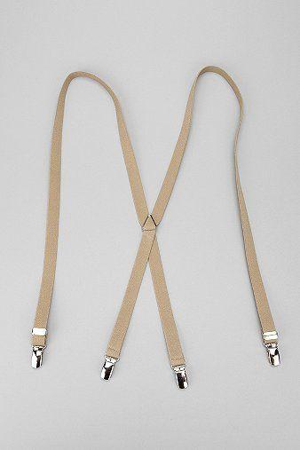 "UrbanOutfitters.com > Solid 3/4"" Suspender"