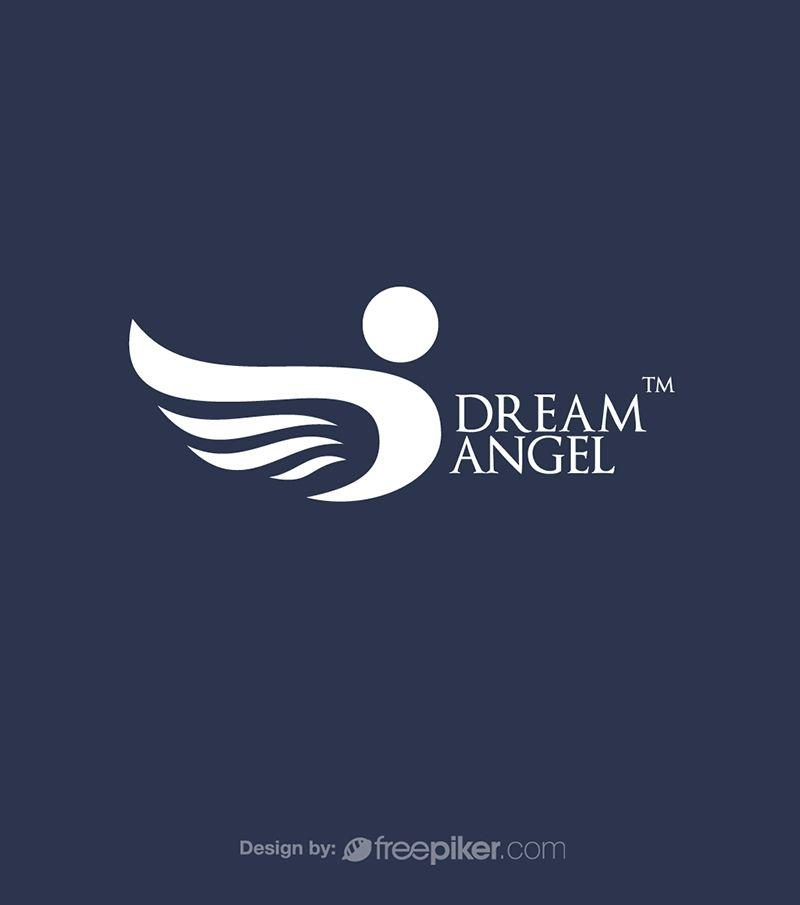 Dream Angel D Logo Logos Angels Logo Angel