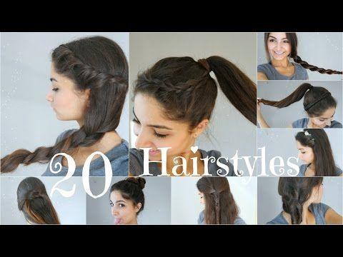 20 5 Minuten Frisuren Schnell Einfach Für Schulealltag