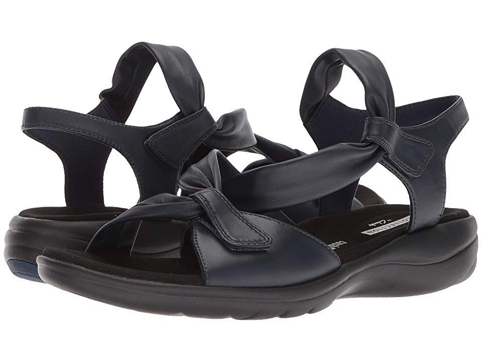 516ccadd673c4d Clarks Saylie Moon (Navy Leather) Women s Sandals. The Saylie Moon is part  of