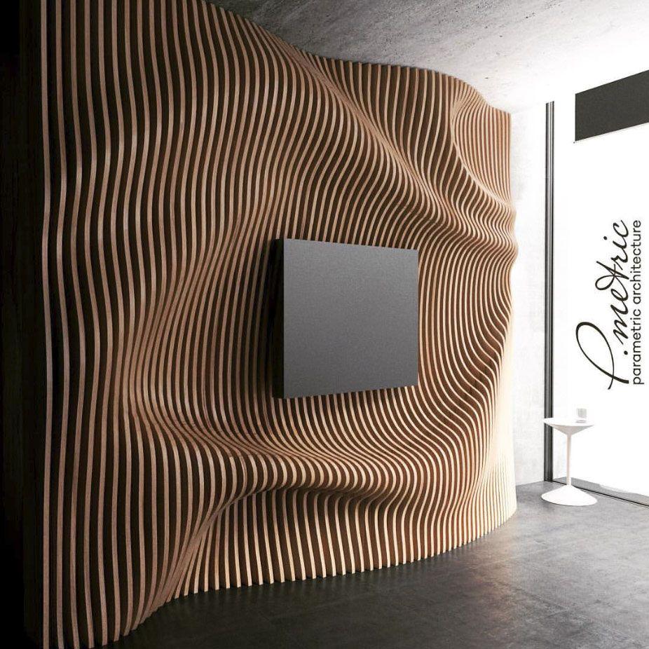 Our Works Parametricheskij Dizajn Dizajn Telesteny Dizajn Interera S Derevom