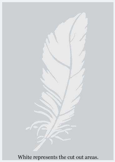 Angel wings MYLAR AirRush PEINTURE DART DE MUR POCHOIR