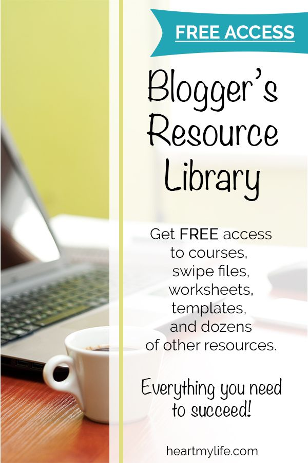 Blogger\u0027s Resource Library Signup Heart My Life Blog Work From - sign up sheets template