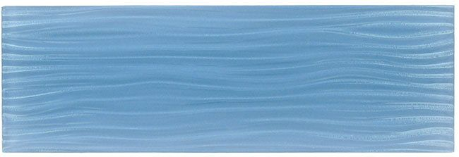 BELK Tile - Crystile Wave Glass Subway 4 x 12 Blue Sea Foam, $73.35 (http://www.belktile.com/crystile-wave-4-x-12-blue-sea-foam/)  Please note:  This price of $73.35 is for a full box of 10 tiles which is 3.26 square feet.