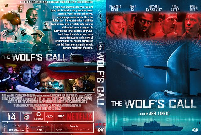 The Wolf S Call Le Chant Du Loup Dvd Cover Dvd Covers Dvd Cover Design Custom Dvd