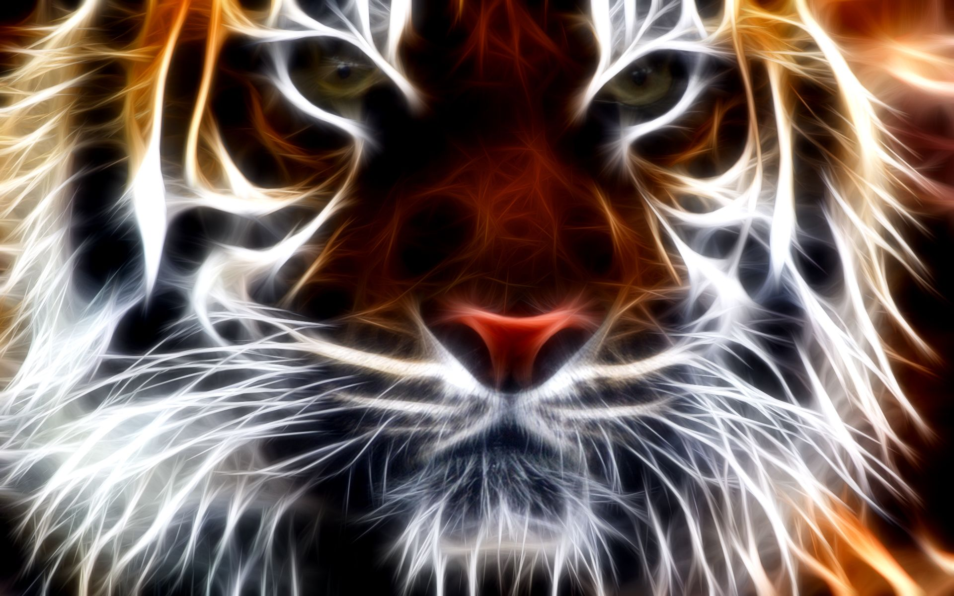 Tiger fractal wallpaper free tigers pinterest fractals and digital art tiger fractal wallpaper free altavistaventures Choice Image