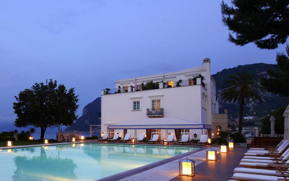 J.K. Place in Capri
