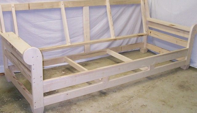 Build A Sofa Frame Built In Sofa Sofa Bed Frame