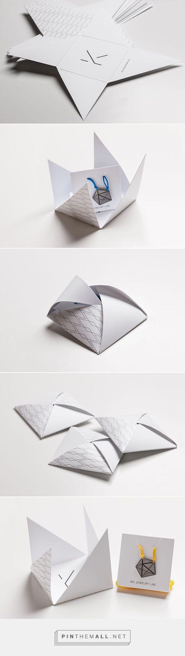 kk handmade jewelry packaging von maria romanidou schnell selbst umzusetzende idee f r eine. Black Bedroom Furniture Sets. Home Design Ideas
